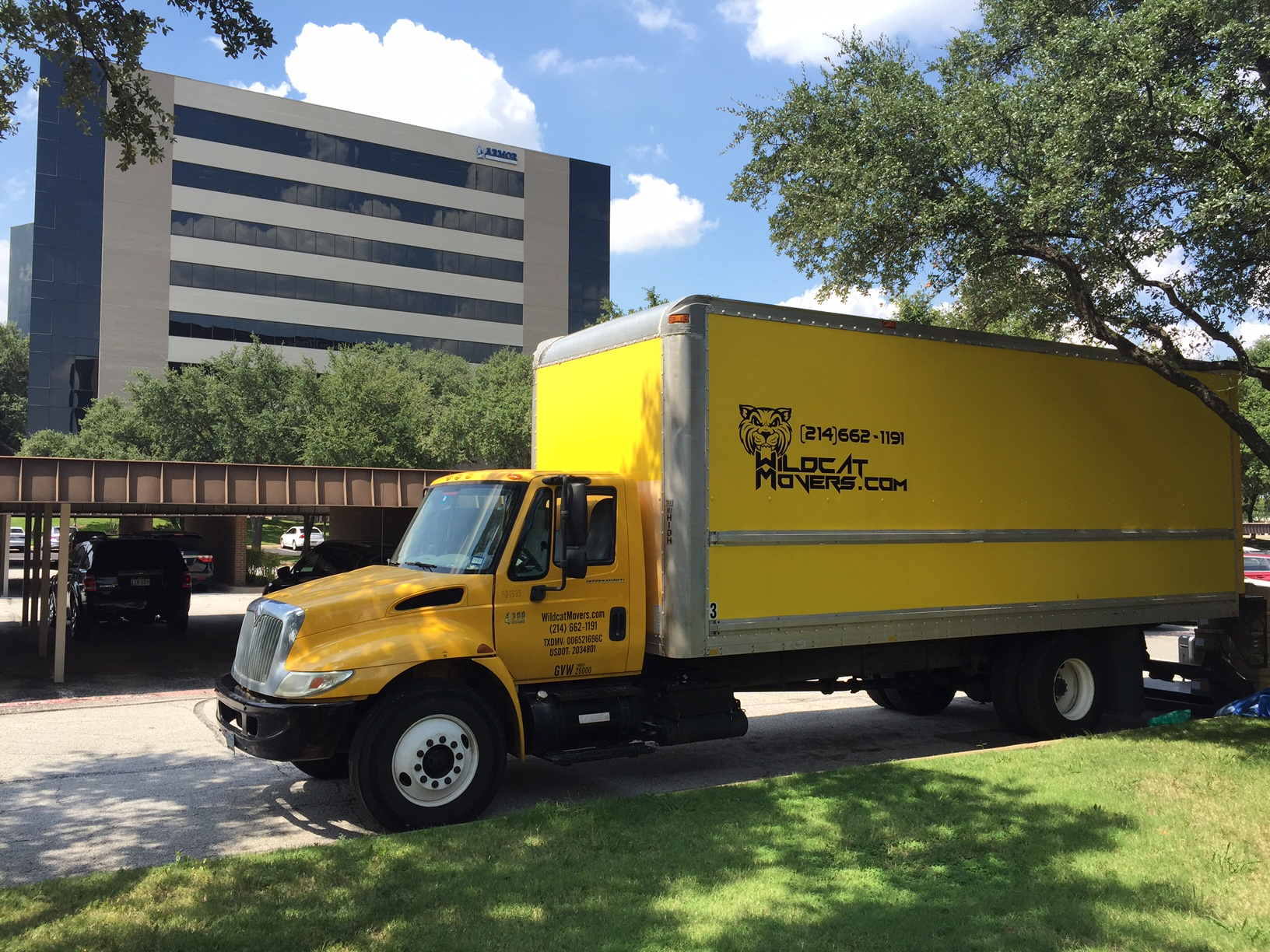 Wildcat Movers Commercial Office Moving