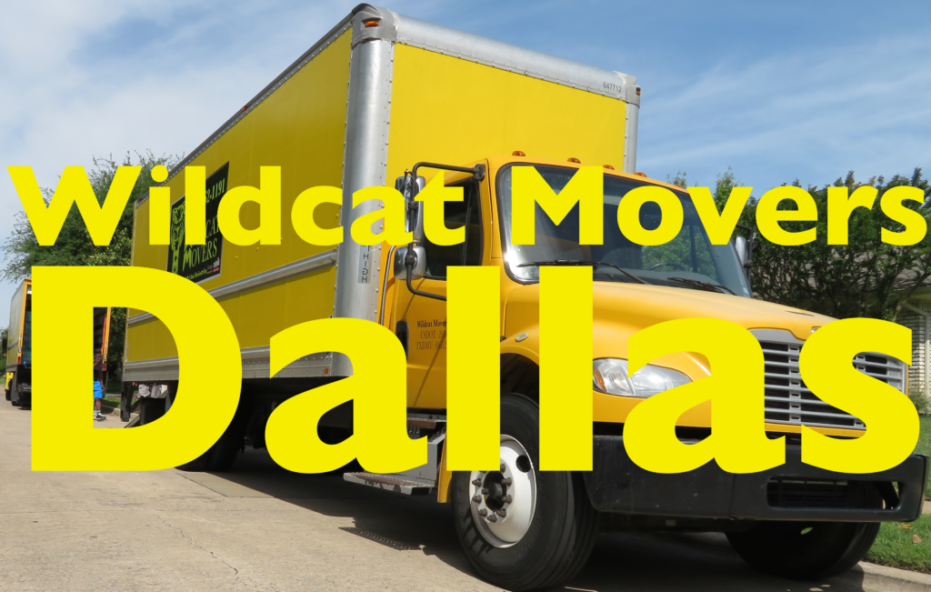 Wildcat Movers Dallas Moving Company Wildcat Movers