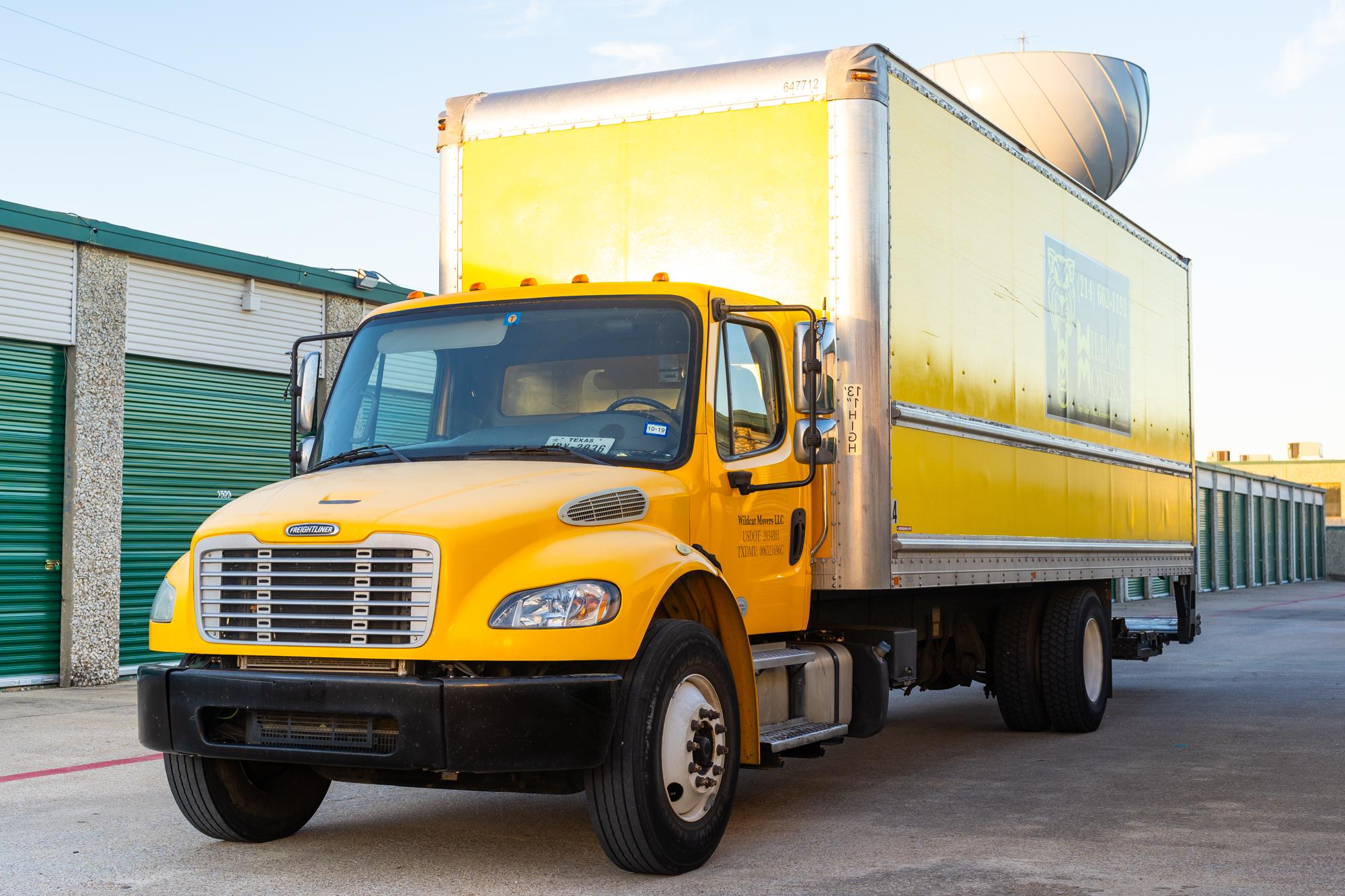 Wildcat Movers Truck Wildcat Movers
